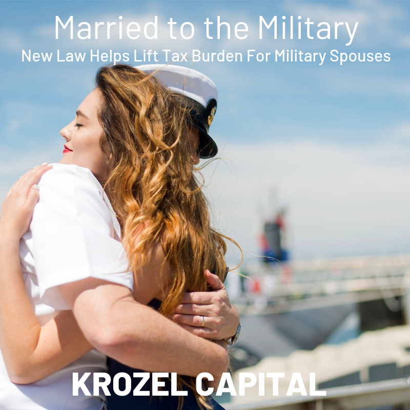 New Law Helps Lift Tax Burden for Military Spouses
